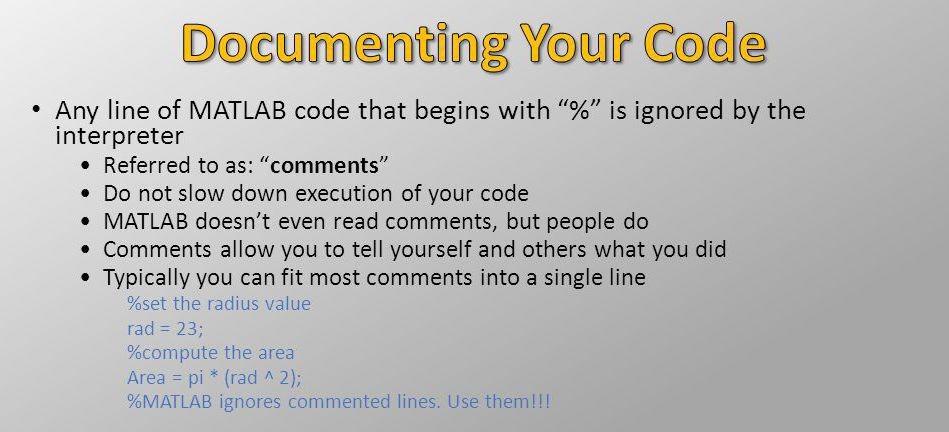 documenting-code